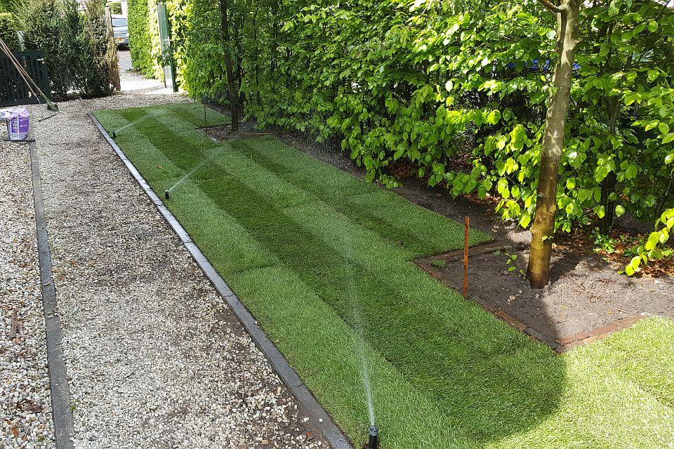 Gras In Tuin : Tuin van swaenewoerd in raalte teruggebracht tot gras salland