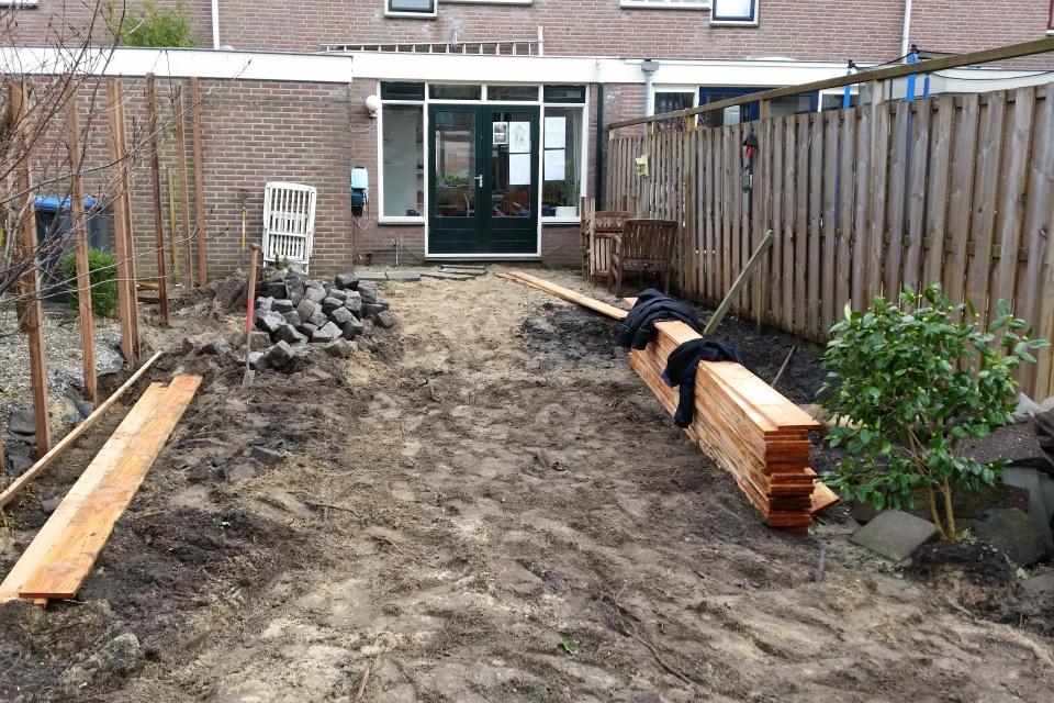 Aanleg nieuwe tuin bij nieuwbouw in ede kerngroen kerngroen