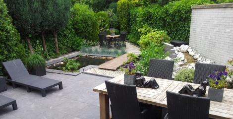 Goedkoop Tuin Aanleggen : Tuin aanleggen in huizen