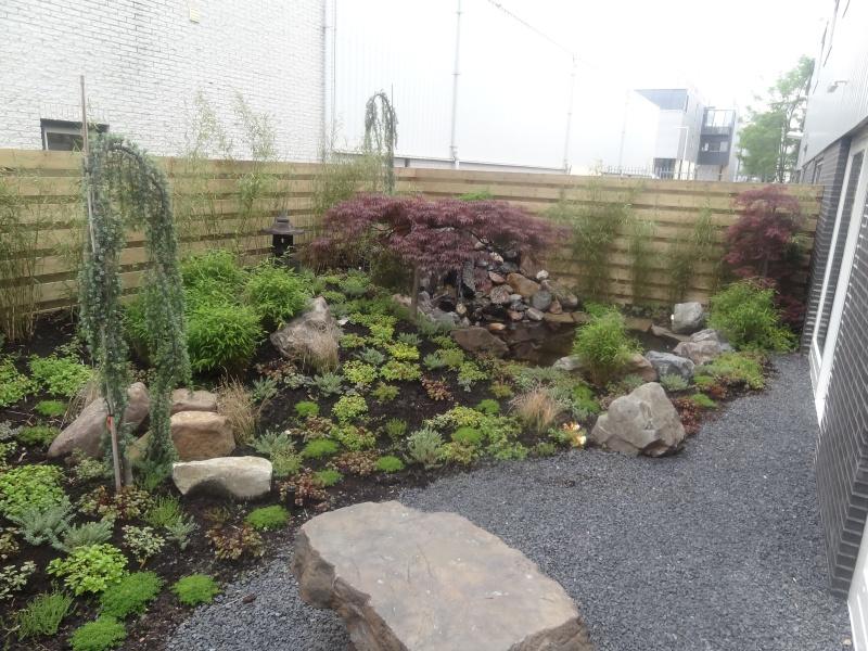Tuinaanleg japanse tuin in eemnes for Zen tuin aanleggen