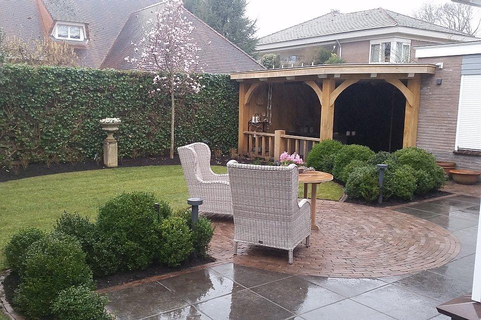 Tuinaanleg landelijke tuin in huizen for Landelijke tuin aanleggen